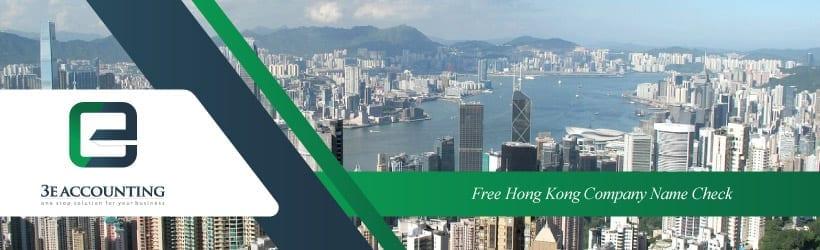 Free Hong Kong Company Name Check