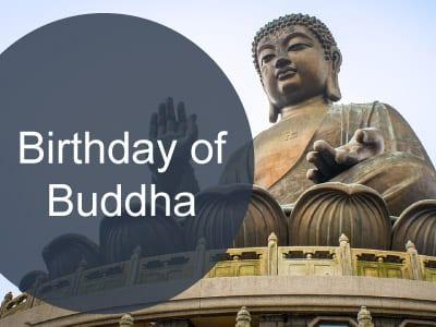 Birthday of Buddha Holiday in Hong Kong