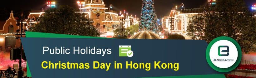 Christmas Day in Hong Kong