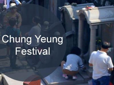 Chung Yeung Festival in Hong Kong
