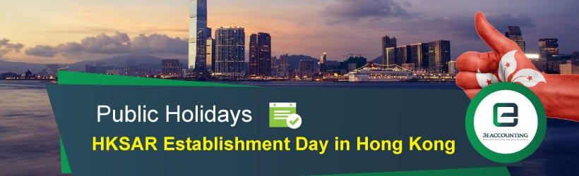 HKSAR Establishment Day in Hong Kong