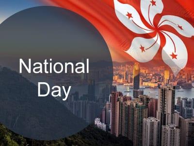 National Day in Hong Kong