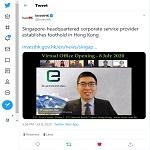 InvestHK Twitter Post
