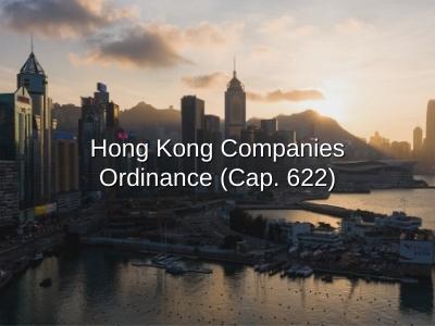 Hong Kong Companies Ordinance (Cap. 622)